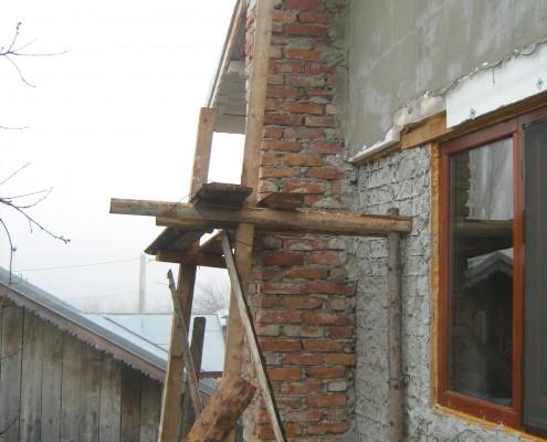 Cos centrale pe lemne