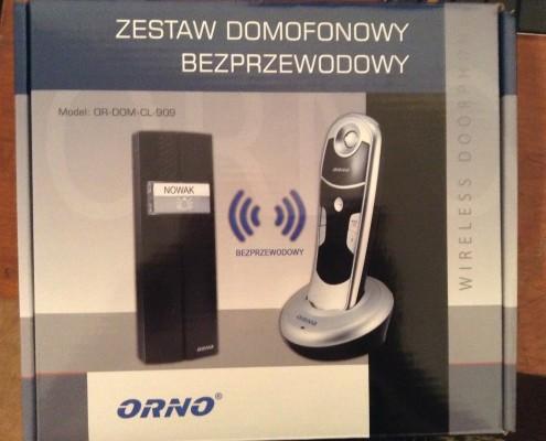 ORNO Interfon fara fir 01