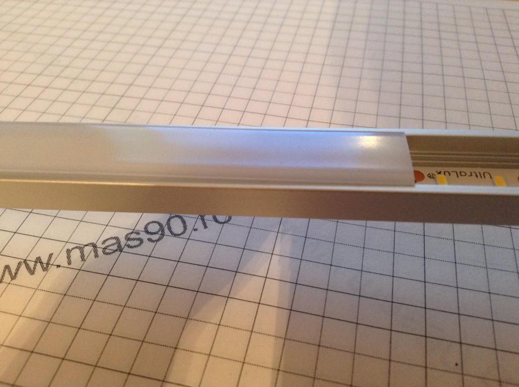 Difuzor aluminiu mat